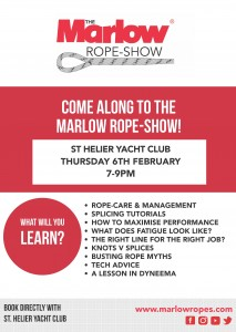 ROPE SHOW A4 POSTER FOR ST HELIER